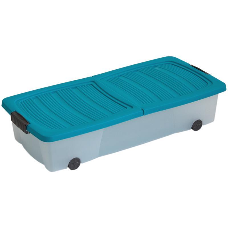 Diy Kitchen Island Ikea Cabinets ~   Roll Klapp Unter Bett Aufbewahrung Box Kommode Kiste Kasten Container