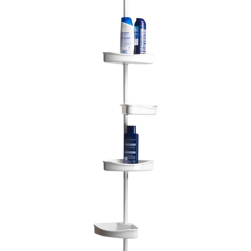 Duschablage Kunststoff : Telescopic Corner Shower Caddy