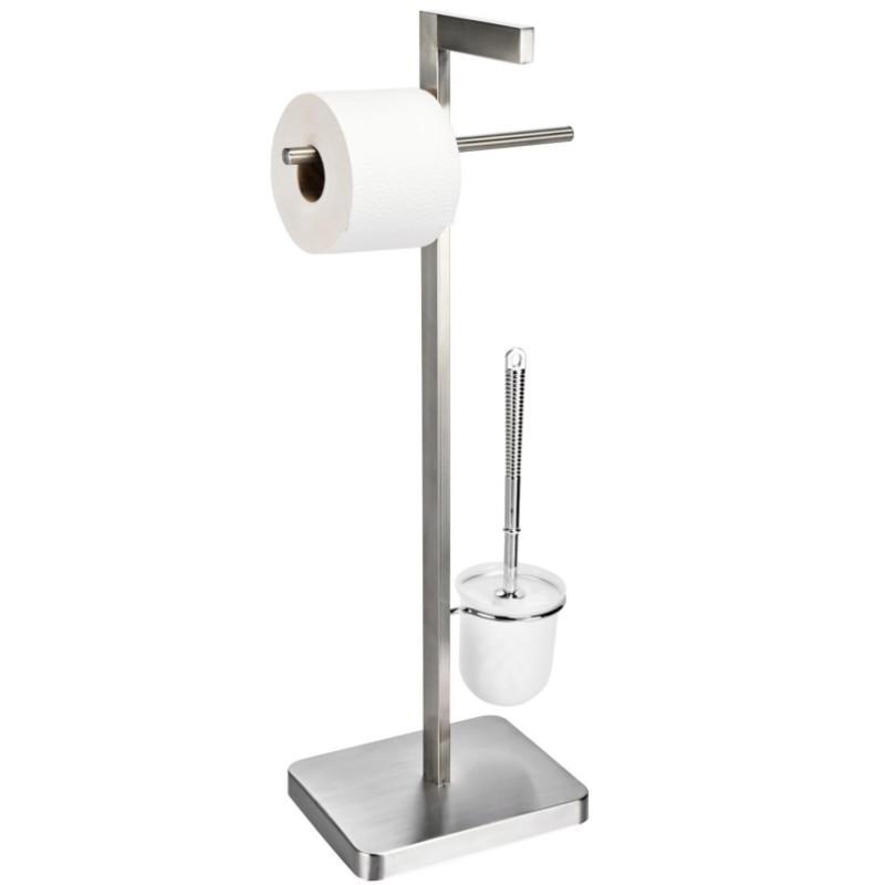 Edelstahl WC Ständer, Bürstenständer