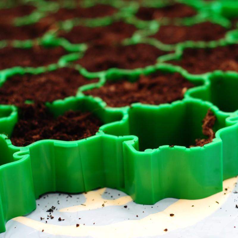 Gartenmobel Aus Rattan Gunstig : Arealecode arealeco Rasengitter & Rasenkanten für Gart