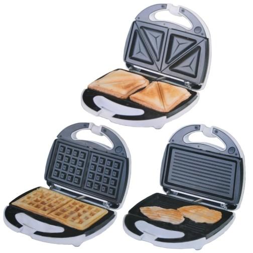 Waffeleisen-Sandwichtoaster-Sandwichmaker-Kontaktgrill
