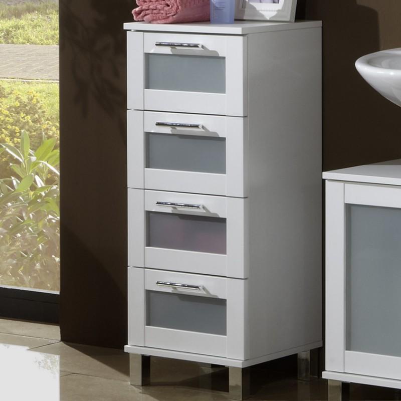 Badezimmer Schrank 4 Schubladen Design