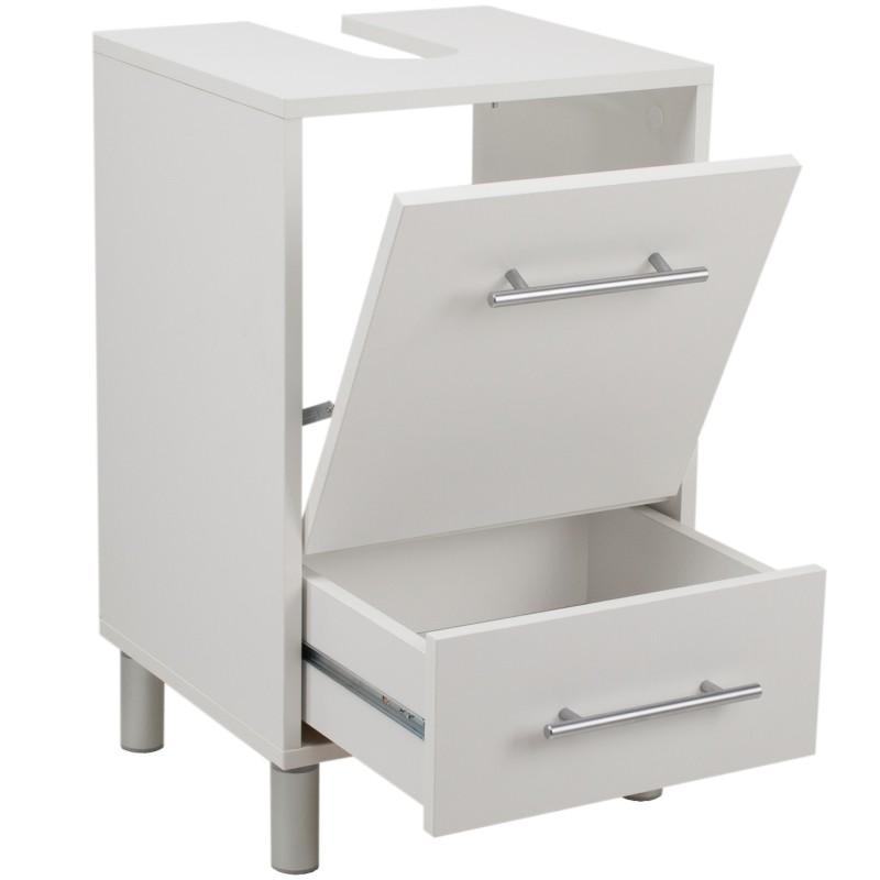 Waschbeckenunterschrank mit Schubladen  ~ Waschbeckenunterschrank Schmal