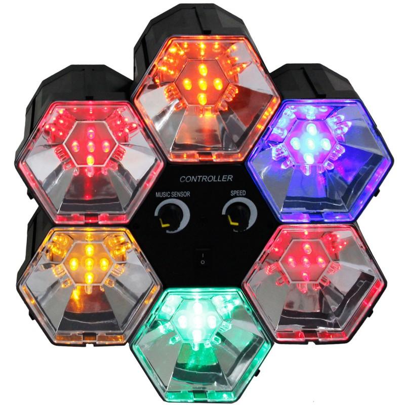 Discolicht-Lichtorgel-Partylicht-Discolampe-6-Kanal